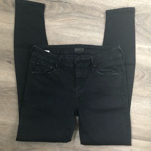 MOTHER JEANS black